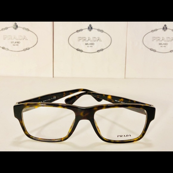 9c7283de960a Prada Accessories | Eyeglasses Vpr10s Dark Havana Brown 55mm New ...